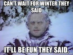 They Said Meme Generator - can t wait for winter they said it ll be fun they said winter