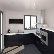 fond blanc en cuisine cuisine porte effet touch ginko noir mat kitchens