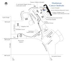 University Of Utah Campus Map by Directions U0026 Parking Huntsman Cancer Institute University Of