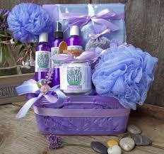 lavender gift basket lavender bath and gift basket by lavender fanatic