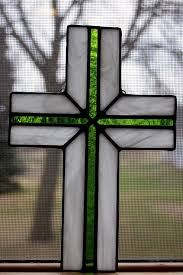 85 best stained glass crosses images on