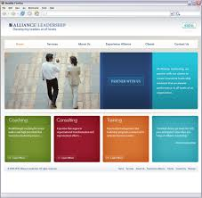 website homepage design its simple the colors catch your eye and its easy to navigate a
