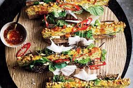 global cuisine valli s zucchini slice recipes delicious com au