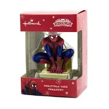 amazon com hallmark marvel ultimate spider man christmas ornament