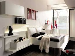 bedroom pretty design ideas of black and white