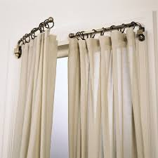 accessories swing arm curtain rod lowes in marvelous window
