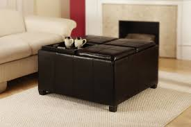 ottomans faux leather ottoman white better homes u0026gardens 30 inch