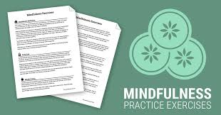 Goal Worksheets For Adults Mindfulness Exercises Worksheet Therapist Aid