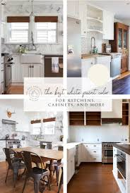 best wall color with oak kitchen cabinets our favorite white paint color for kitchens cabinets the