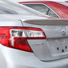 toyota camry spoiler toyota camry lip mount painted rear spoiler 2012 2013 2014