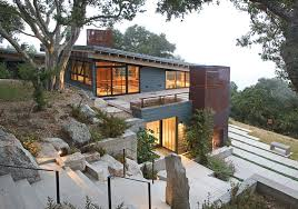 steep hillside house plans how to artfully build a house on a hillside
