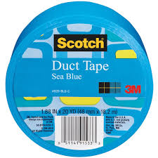 amazon com scotch duct tape sea blue 1 88 inch by 20 yard home