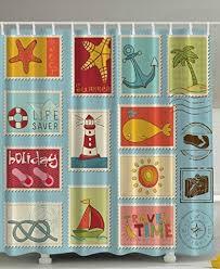 129 best beach shower curtains images on pinterest beach shower