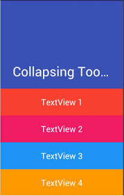 android toolbar tutorial android material design collapsing expanding toolbar exle