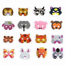 lion mask for kids new assorted foam animal mask kids birthday party favors