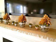 Mantel Topiaries - diy home decor diy make a cranberry topiary diy topiaries diy