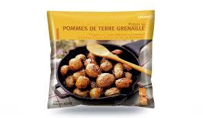 comment cuisiner les pommes de terre grenaille poêlée de pommes de terre grenaille surgelés les légumes picard