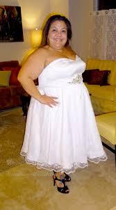 custom wedding dress lisette wedding dress fitting front side smiling watermark