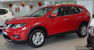 nissan trail 2016 nissan x trail u2013 now available in flaming red for cny image 432842
