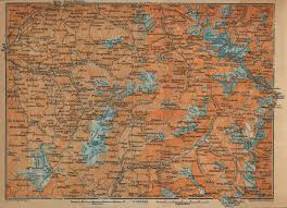 South Of France Map by The Tarentaise And Maurienne Map France 1914 Full Size