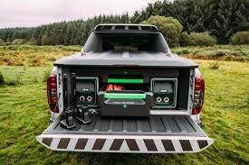 navara nissan modified nissan navara enguard emergency truck concept utilizes battery