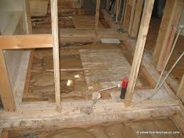 wooden sub floor removal repairs installations