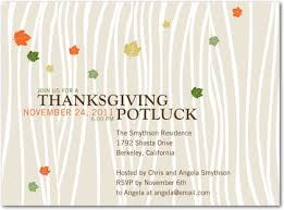 thanksgiving pot luck lunch invitations happy thanksgiving