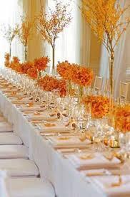Orange Table L 6 Beautiful Wedding Table Centerpieces And Arrangements Paperblog