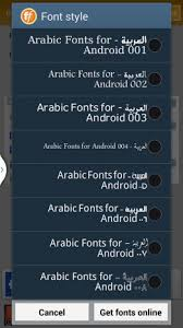 fonts for android flipfont arabic font style 1 6 apk for android aptoide
