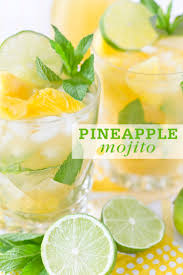 frozen mojito recipe pineapple mojito
