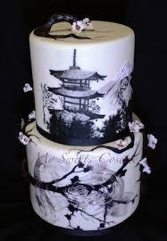 wedding cake theme japanese theme wedding cake cakecentral