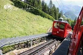 treno cremagliera monte pilatus raggiungere pilatus kulm con la cremagliera pi禮