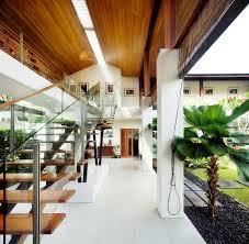 interior brilliant tropical interior design with wooden