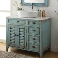 Bathroom Vanity Bowl Sink 36 Benton Collection Distress Blue Abbeville Vessel Sink Bathroom