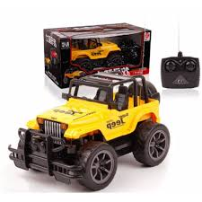 yellow jeep quality remote control jeep car baby kids sports yellow lazada