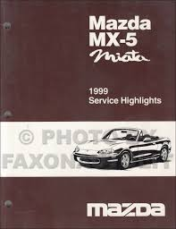 1999 mazda mx 5 miata electrical wiring diagram original