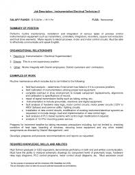 cover letter electrical instrumentation technician cover letter