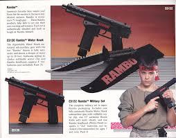 rambo headband ljn toys catalog 1987