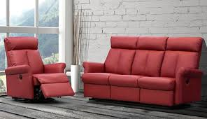 Elran Reclining Sofa Cast Wicker Reclining
