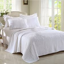 King Size Coverlet Sets Aliexpress Com Buy Chausub King Size Coverlet Set 3pcs Washed