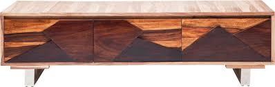 tv schrank design lowboard kommode tv board tv schrank valencia braun neu kare
