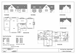 chalet plans 4 bedroom self build timber frame chalet bungalow design