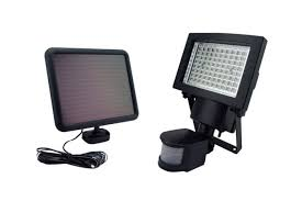 outdoor security motion lights sontax outdoor solar powered 80 led motion light security flood l