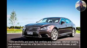 lexus ls 430 massage 2016 lexus ls 600h l review youtube