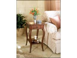 Cherry Side Tables For Living Room Impressive Cherry Side Tables For Living Room With Curved Legs