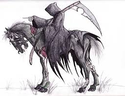 grim reaper horse tattoo designs photo 2 real photo pictures