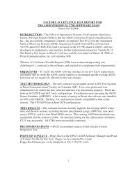 acceptance test report template acceptance test report template 1 professional and high