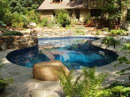 Lagoon Swimming Pool Designs by In Ground Pools Goodall Pools U0026 Spas