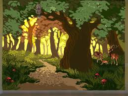 the talking walls mural concept sketches forest mural portland portland muralist trees mural kids room forest mural