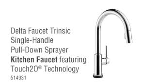 15 Fresh Delta Single Handle by Delta Faucet Kitchen Lowe S Canada